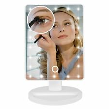 Led Vanity Mirror with 10 X Magnifier 22 LED Dimmable Lights