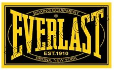 EVERLAST BOXING FLAG POSTER SIGN 3' X 5'