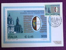 """1999 Cartolina Filatelica FDC """"Grande Torino Scudetto"""" Annullo TORINO CENTRO"""