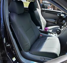 ACURA TL 2004-2008 CHARCOAL S.LEATHER CUSTOM FIT FRONT SEAT COVER