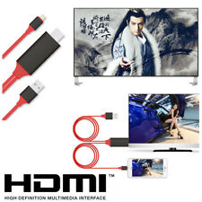 Lightning to HDMI Video&Audio Cable Adapter for iPhone X 7 8 Plus TV Screen Cast