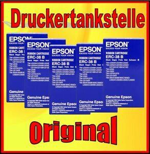 5x originales Farbband EPSON TM-U220A U220B U220D U210A U210B U210D ERC-38 B