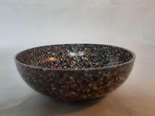 More details for vintage speckled bakelite small bowl 4