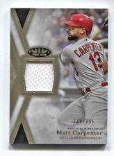 2020 Topps Tier One Jersey Relic Matt Carpenter #/395 St. Louis Cardinals