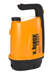 Pompa irroratrice elettrica batteria litio ORIGINALE VOLPI V.Black Smart 5 litri
