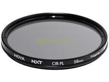 58mm. filtro Polarizzatore circolare Hoya NXT. Polarizer filter.