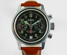 Russische Armbanduhr Buran Chronograph Handaufzug!