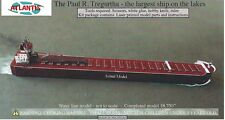 Paul R. Tregurtha Great Lakes Freighter Boat Paper Model by Atlantis Toy & Hobby