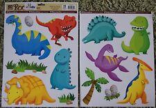 Childrens Kids Girls Boys Dinosaur Wall Furniture Stickers Decals Stickarounds