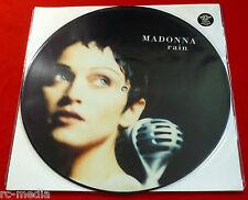 "Madonna-Rain-UK 12"" PICTURE DISC (Vinyle) avec insert"