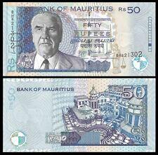 Mauritius 50 RUPEES 2009 (BH) P 50e UNC