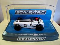 "Scalextric  Caterham Superlight  #16  ""Championship 2015""    Ref. C3723 NEU"