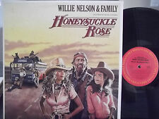 WILLIE NELSON & FAMILY HONEYSUCKLE ROSE SOUNDTRACK ON COLUMBIA RECORDS DOUBLE LP