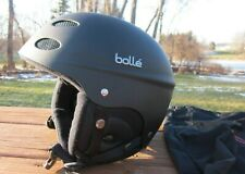 New listing 2010 Bolle 30273 T9 Ski Snowboard Helmet and bag (S 52-54cm) - Black