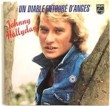 JOHNNY HALLYDAY : UN DIABLE ENTOURÉ D'ANGES / LA FILLE DE L'HIVER [ CD SINGLE ]