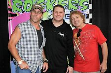 Shawn Michaels Marty Jannetty Signed The Rockers Event Used Banner BAS COA Auto