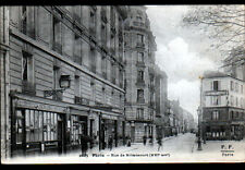PARIS (XVI°) BUREAU POSTE N°100 , A. GRAFF CHIRURGIEN DENTISTE & COMMERCES 1900