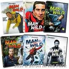 Man vs Wild TV Series Complete Seasons 1 2 3 4 5 6 Bear Grylls DVD Box Sets NEW!