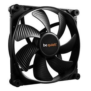 Be Quiet Silent Wings 3 Black 140MM Fan, 15.5dB, Advanced Fluid Dynamic Bearing