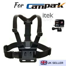 Chest Strap Harness Mount Holder for Campark ACT76/ACT68/ACT74/X20 & itek 1080p