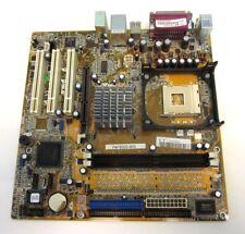 PLAQUE BASE ASUS P4P800S-M/S DOUILLE 478 DDR400 AGP INCLUS MÉTALLIQUE BOÎTE