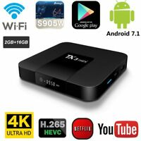 TX3 Smart TV Box Android 7,1 Amlogics S905W Quad Core WiFi 2 Go RAM 16 Go ROM