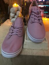 VANS Lo Pro Violet Canvas Lace Up Skate Shoes 11 Women