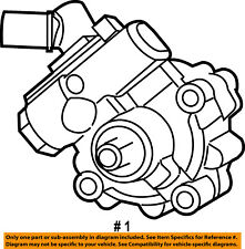 mopar genuine oem power steering pumps parts for jeep wrangler ebay Peterbilt MEMS jeep chrysler oem 12 17 wrangler power steering pump 5154400ac