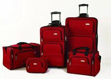 Samsonite 5 Piece Nested Luggage Set, Red One Size