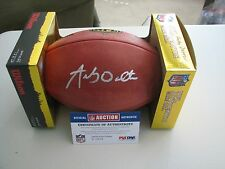Andy Dalton Autographed NFL Football   PSA