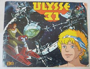 Album Ulysse 31 no Panini  - 1982 - 40% complet