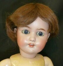 """10"""" HUMAN HAIR WIG for ANTIQUE DOLL, VINTAGE WIG, DOLLMAKING"""