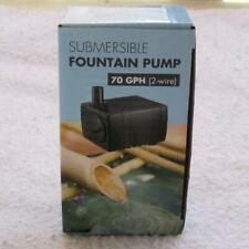 Adjustable 70Gph Submersible Water Pump for Tabletop Water Fountains