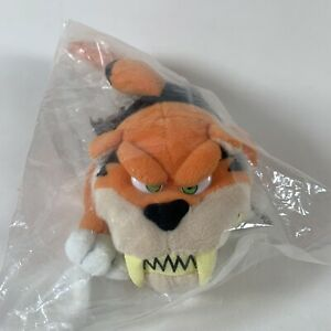 Vintage 1998 MEANIES Special Edition Tiger Shark Plush Quaker Oats Promo, Sealed