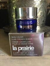 LA PRAIRIE- Miniature Crème Caviar Luxe pour le Visage- Texture Fine- 5ml
