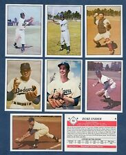 The 1950s BROOKLYN DODGERS complete team set: ALL 43 different cards (1979 TCMA)