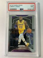 2019 Panini Prizm LA Lakers LEBRON JAMES Basketball Card PSA 9 MINT