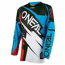 O'NEAL Hardware Flow JAG Motocross Jersey Blue Red Enduro T-Shirt SIZE XL