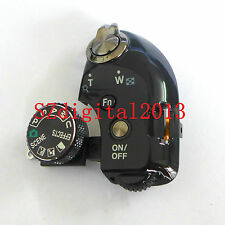 Function Dial Model Shutter Button Label For Nikon P610 Top Switch Cover Black