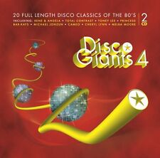 Disco Giants  Volume 4 (2-CD) Great 80's 12 inches