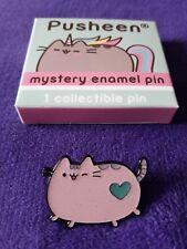 Pusheen Mystery Glitter enamel Pin (Pusheen Wink -pink with heart)