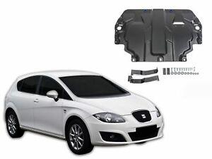 Protection sous moteur ACIER pour SEAT LEON 2005-2013 + AGARFE