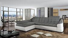 Couchgarnitur INFINITY mini Sofa mit Schlaffunktion Couch Polsterecke Ecksofa