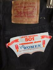 WOMENS sz 13 32x33 Vtg NOS 1987 USA Made Levi 501 Denim MOM Jeans 80s DS