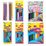 Colouring Pencils Set Drawing Artist Kids Therapy Colouring Book - Choose Pack