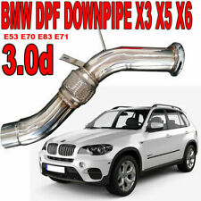 Downpipe FAP OFF DPF REMOVAL BMW X5 E53 3.0 d 2993 160 kw 218 hp M57N VAG5