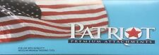 "Patriot Premium Attachments 1"" Purple Tags for Regular Tagging Tool 5,000 Pc Box"