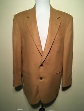 LORD & TAYLOR 100% Cashmere Sport Coat Jacket Blazer USA  42L Brown