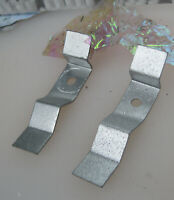 Corvette 1958 1959 1960 Door Panel Reflector Brackets (2) 1961 1962 Original