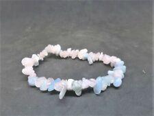 Morganite Natural Gemstone Bracelet Healing Chakra Reiki New Age Handmade